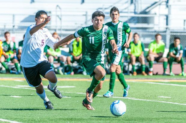 Boys soccer: Hawks hold off Cougars, win first section title