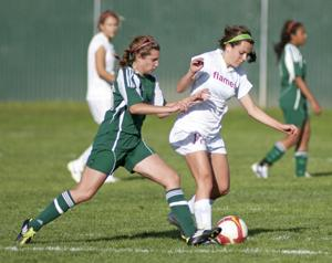 Lodi Flames dominate Tracy Bulldogs in girls soccer