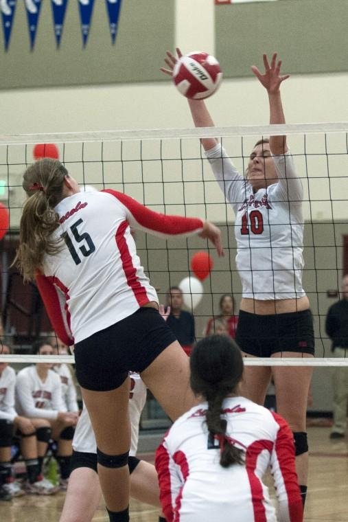 Flames denied share of championship volleyball
