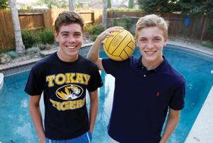 Tokay Tigers water polo player Will Paustenbach shares team, home with Italian student