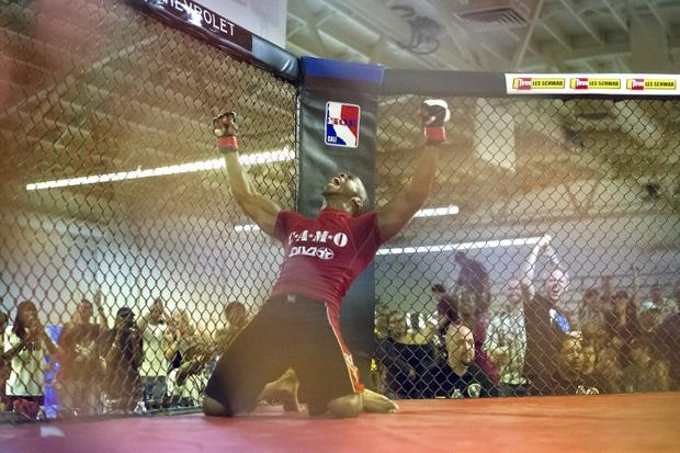 Lodi's Demitry Moore wins mixed martial arts fight