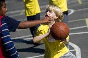 Basketball tournament for people with special needs draws crowd of hundreds
