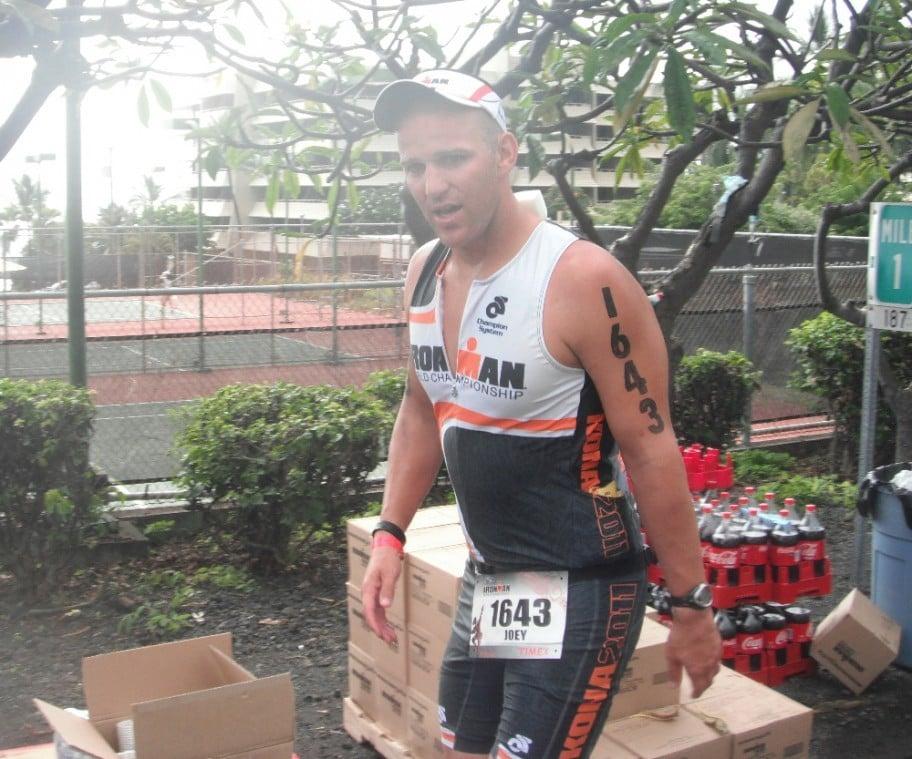 Lodi Ironman Joey Williams competes in Hawaii