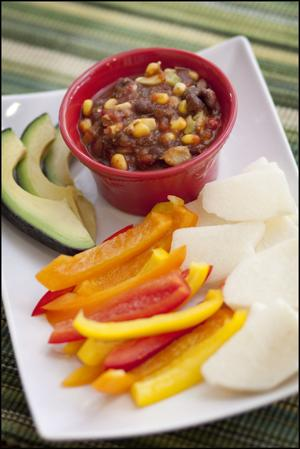 Cowboy salad is a versatile and economical recipe