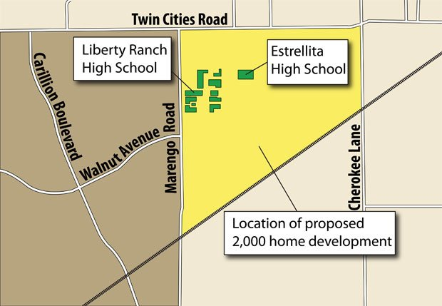 Developer plans 2,000 new homes northeast of Galt