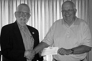 Elks contribute $500 to Lodi Adopt-A-Child Foundation