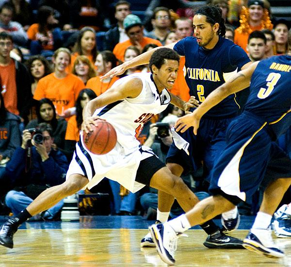 Cal steals show with rout of Pacific