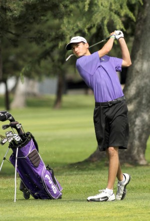 Tigers top Flames, earn a split decision in boys golf