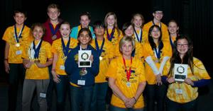 Elkhorn School Science Olympiad team takes home first-place award