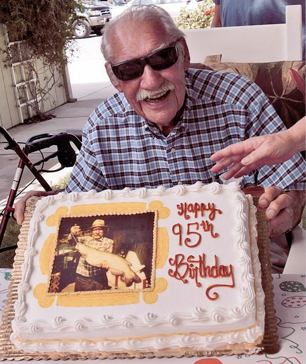 Lodi resident Del Dobretz celebrates 95th birthday