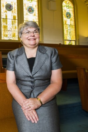 Lori Sawdon is First United Methodist Church's first female pastor