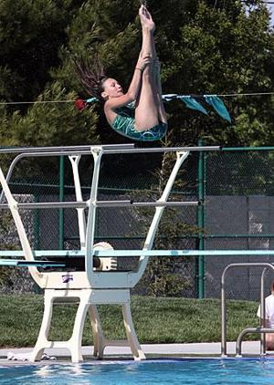 St. Mary's Michele Serra captures Sac-Joaquin Section diving championship