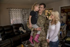Grinch ruins soldier's Christmas surprise