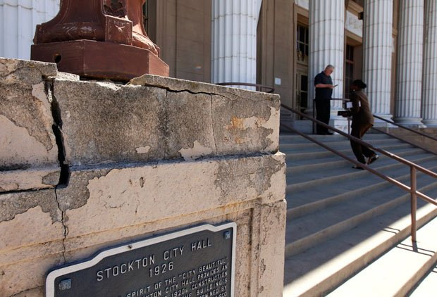 Judge approves Stockton bankruptcy