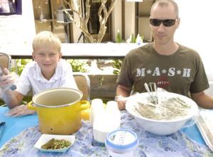 Vegetarian dishes star at International Food Fair
