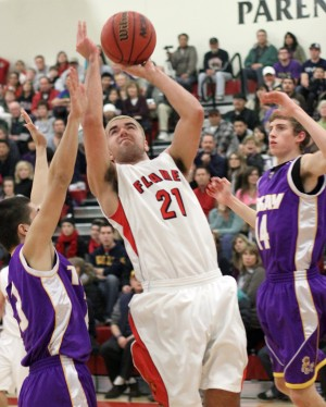 Lodi Flames clamp down on Tokay Tigers in varsity boys basketball defensive battle