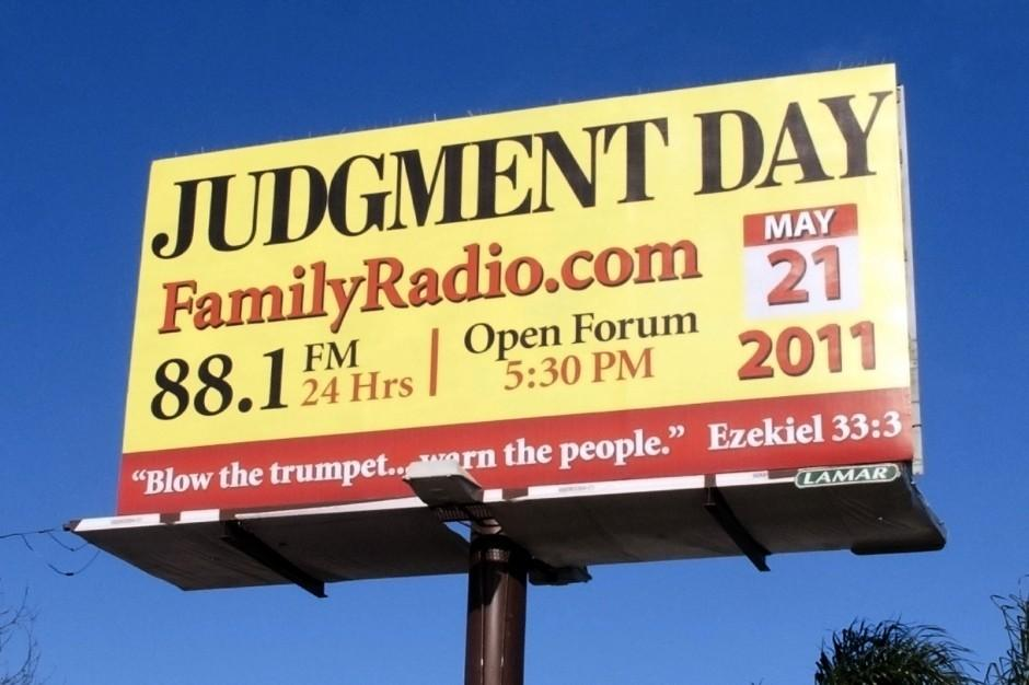 People using billboards, ads to spread word of Judgment Day