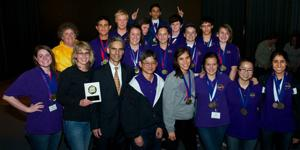 Tokay High School Science Olympiad team wins first-place award