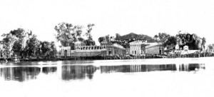 Blaze of glory: Grape Festival lit up Lodi Lake in 1937