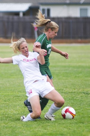 Lodi Flames semifinal hopes in girls soccer shattered in double overtime