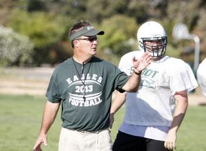 Football: Former assistant Jim Hansen steps up and takes over the Elliot Eagles