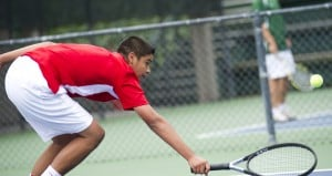 Lodi's Deven Villarin wins consolation final at San Joaquin Athletic Association tennis tournament