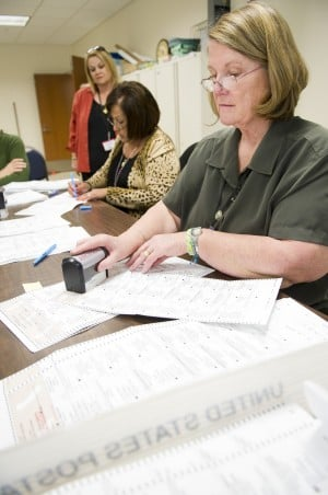 It's a meticulous process to tabulate 11th District votes