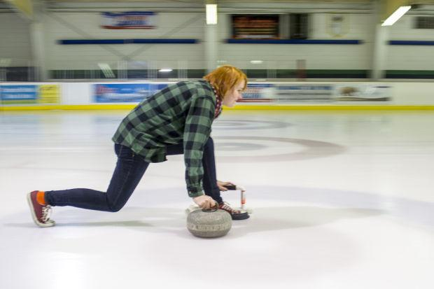 Curling attempt was fun — but it's not my Olympic destiny