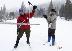 California snowpack holding twice amount of water than average
