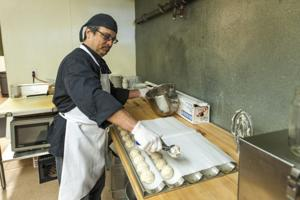 Culinary student Luis Araujo enjoys creating unique cakes and cupcakes