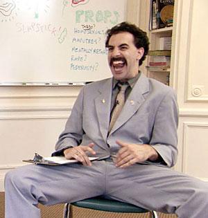Public reaction to 'Borat!' raise controversial questions