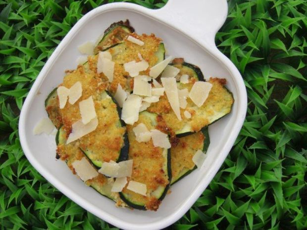Not my mama's fried zucchini
