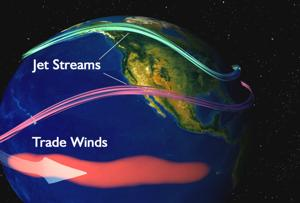 El Niño Messing with Our Jet Stream