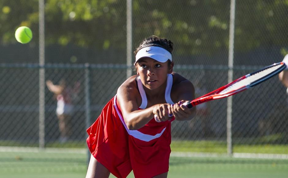 Flames remain perfect in San Joaquin Athletic Association girls tennis