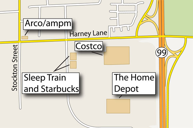 Sleep Train Mattress Center, Starbucks coming to Reynolds Ranch