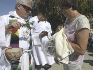 St. John's Episcopal Church honors furry friends with 'Blessing of the Animals'