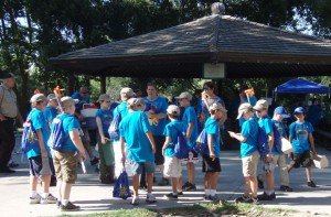 Local members participate in the 2012 Cub Scouts Olympics at Lodi Lake Twilight Camp