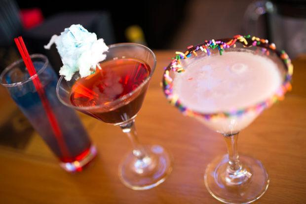 Liquid refreshment: Relax and unwind