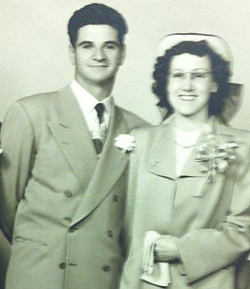 Frank and June Silveera celebrate their 64th wedding anniversary