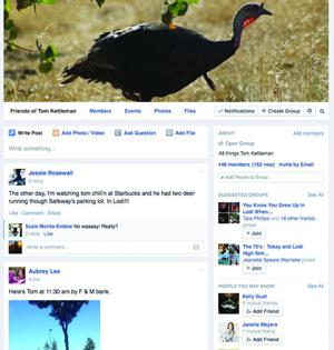 Lodi man takes to social media to track 'Tom Kettleman' the turkey