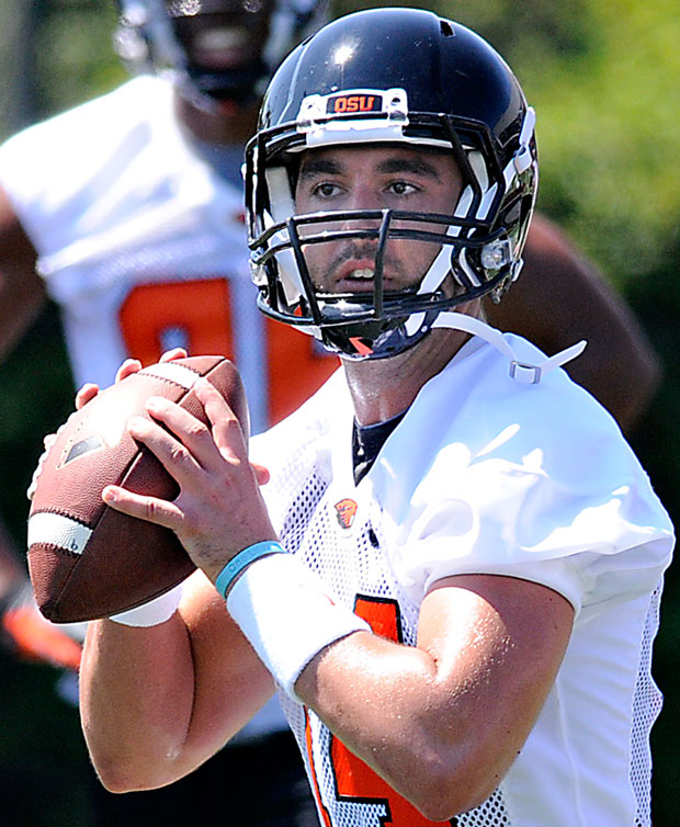 Lodi's Cody Vaz battling for starting quarterback spot at Oregon State