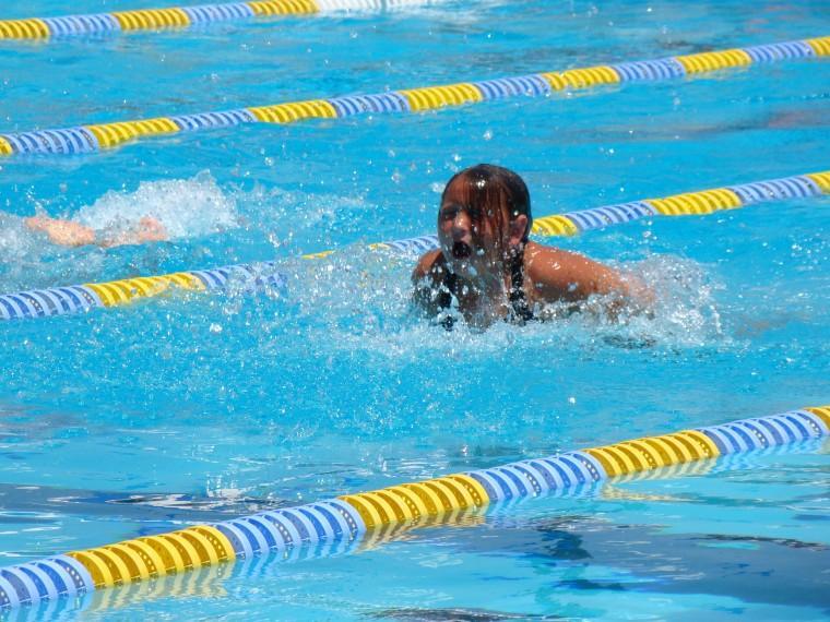 Destinee Love, Butterfly 7-8 YRS @ Lodi Summer Swim League
