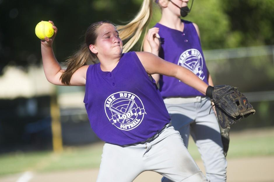 Tin Grins all smiles after winning Babe Ruth 12-and-under softball championship