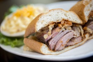 Lunch: Feast on comfort food at Tin Roof BBQ