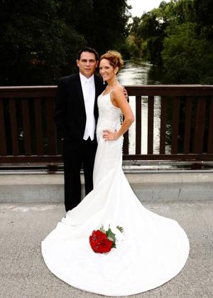 Marcus Castaneda, Karen Baumgartner were married in October