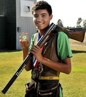 Morada sharpshooter Brandon Belanger aims for the Olympics