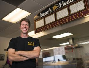 Cut the Mustard owner Chris Troy loves creating sandwiches
