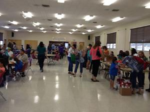 Girl Scouts host event to help charities in honor of Make A Difference Day