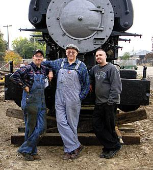 Area man aims to restore train using only 19th century tools