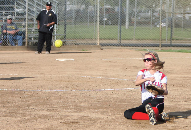 Softball: Flames hammer Titans